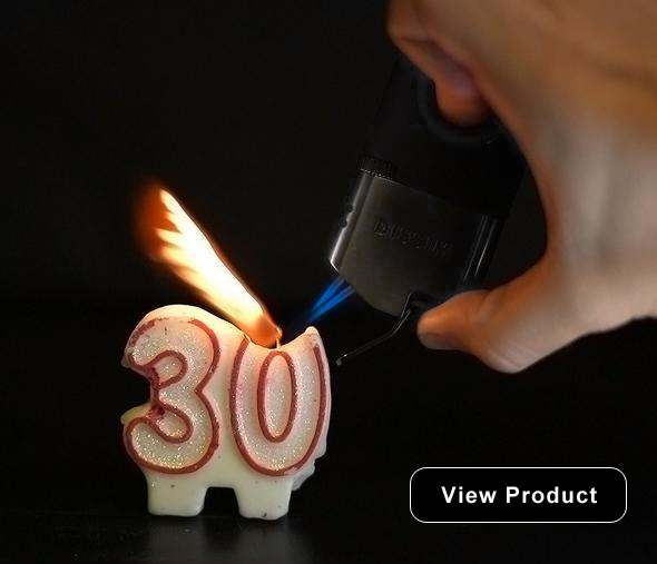 INVERTED DUAL TORCH LIGHTER
